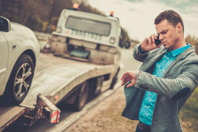 Stranded Car Tow Truck Service